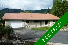 Blind Bay Rancher with walkout basement  for sale: Shuswap Lake Estates 4 bedroom 2,020 sq.ft. (Listed 2018-06-30)