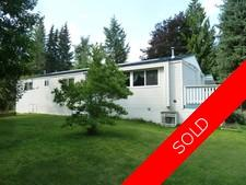 Salmon Arm Mobile in Park for sale: Countryside MHP 3 bedroom 1,270 sq.ft. (Listed 2019-05-17)